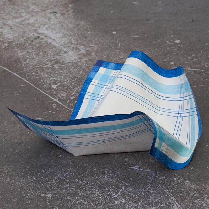 Blaues Taschentuch