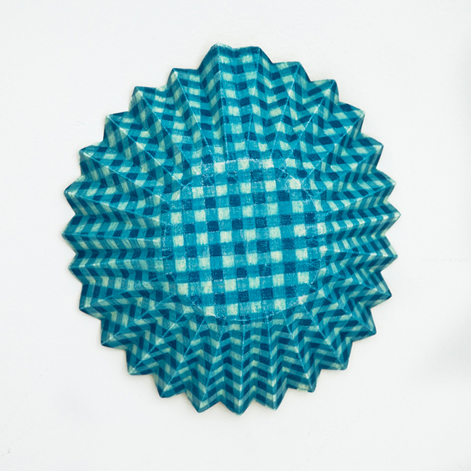 Blaue Form